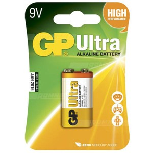 GP BATTERI ULTRA 9V 6LF22