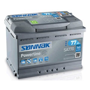 SØNNAK POWERLINE BATTERI 77AH / 760A
