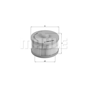 DIESEL FILTER CHRYSLER / FIAT / MERCEDES